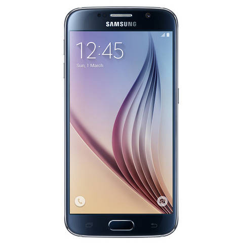 Смартфон SAMSUNG GALAXY S6 32GB Black Sapphire | 8 ядер | AMOLED| Android