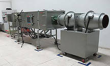 Аэродинамические трубы для испытания кухонных вентиляторов и вытяжек Theseus SCI TS-ADT-1039 и TS-ADT-1040