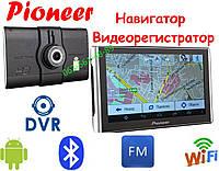GPS Pioneer M515 DVR (Pi700i) + AV 512mb-8gb Андроид GPS Навигатор Android Навигатор Видео регистратором 2в1