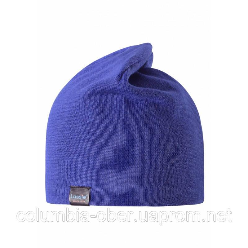 Демисезонная шапка для мальчика LASSIE by Reima 728709-6690.  Размеры S - L.