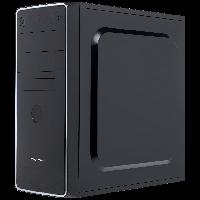 LogicPower LP 1702 + Блок питания ATX 400W 8см - корпус компьютерный