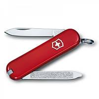 Нож Складной Мультитул Викторинокс Victorinox ESCORT (58мм, 6 функций), красный 0.6123