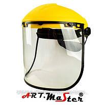 Защита для лица, состоящая из противоосколочного стекла, оголовья и шарнирного блока OSLUX15 ARTMAS