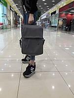 Рюкзак женский SamBag Лофт серый графит искусственная кожа разные размеры 22400009