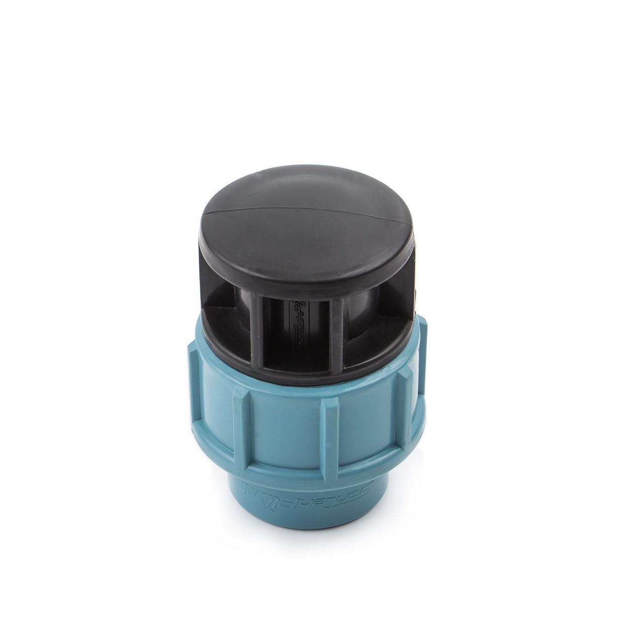 Заглушка 40 мм ПНД для полиэтиленовой трубы