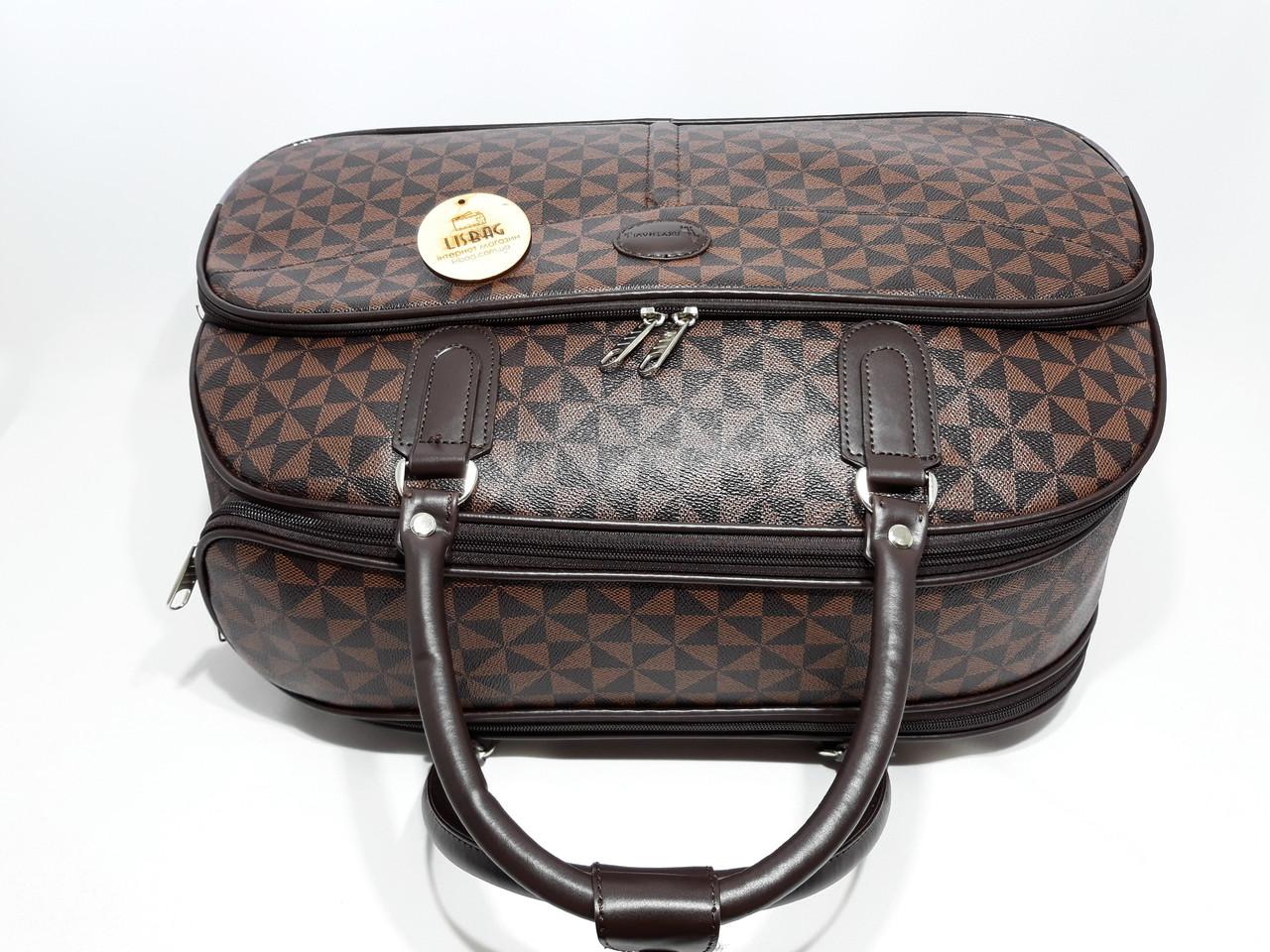 5072e7f73b9f Сумка на колесах большая XL Коричневая (59*31*38) чемодан дорожная сумка  валіза на колесах, цена 935 грн., купить в Умани — Prom.ua (ID#743550350)