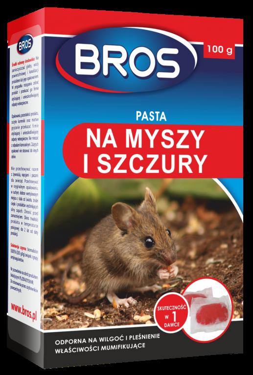 Паста от крыс и мышей Bros 100 г