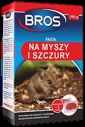 Паста від щурів і мишей Bros 100 г