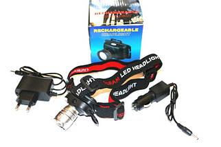 Налобный фонарь аккумуляторный Police ZB-5958, зум, Cree Q5, 1500 Lm, фото 3