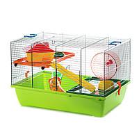 Клетка для хомячков оцинкованная PINKY 2 ZINC ™️ Inter Zoo G301 (500*330*330 мм)