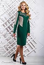 Женское перфорированное платье больших размеров (2320-2321-2322 svt), фото 3