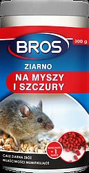 Зерно від щурів і мишей Bros 300 г