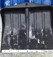 Лопата для снега черная Малый ковш c Тонким черенком