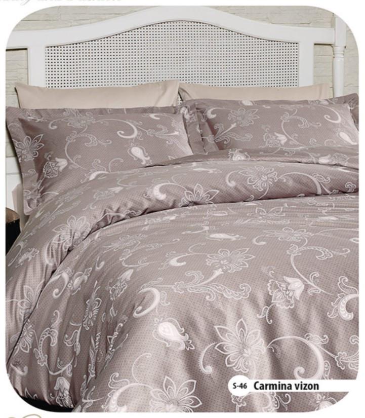 Семейное постельное белье First Choice Carmina Vizon