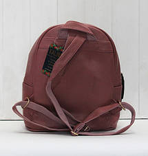Рюкзак стильний молодіжний зі штучної шкіри, фото 2