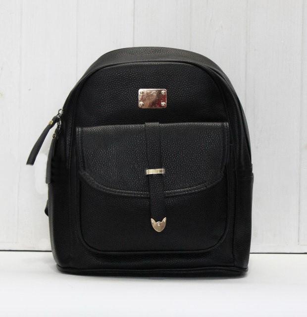 Рюкзак стильный молодежный из искуственной кожи