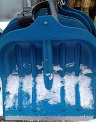 Лопата для снега Snow Master с ручкой