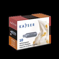 """Баллоны """"Kayser"""" для сливок N2O 10 шт"""