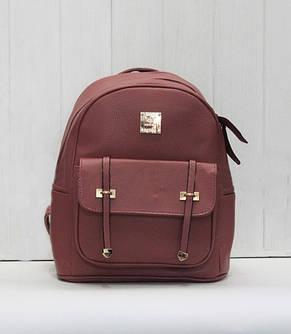 Рюкзак стильный из искуственной кожи, фото 2
