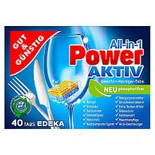 Таблетки для посудомоечных машин G&G Power Aktiv 40 шт.