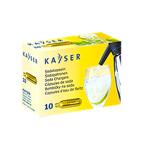 "Баллоны ""Kayser"" для газирования воды CO2, 10 шт"