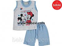 Babexi (бабекси) детская одежда из турции детская одежда оптом.Майка+шорты Микки р.1,2 года.