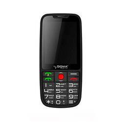 Мобільний телефон Sigma Comfort 50 Elegance 3 Black