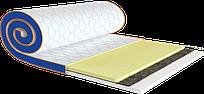 Мини Матрас топпер MEMO 2 in 1 FLEX  / МЕМО 2 в 1 ФЛЕКС (ткань жаккард или стрейч) серии Sleep&fly mini ТМ ЕММ