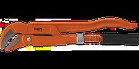 """Ключ трубный тип """"45"""", 235мм,0.5""""; 330мм,1.0"""";  415мм,1.5""""; 535мм, 2.0"""", NEO 02-125, 02-126, 02-127, 02-128"""