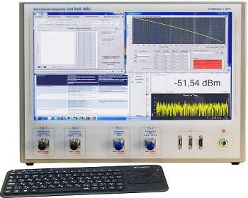 АРМ UniTesS для поверки GPS\ГЛОНАСС приемников на базе векторных генераторов 102x