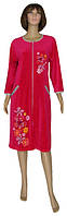 NEW! Новинка месяца - женские халаты из велюра Dream Flowers Malina со скидкой 21%!