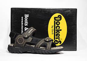 Шикарные кожаные сандалии Dockers by Gerli, Германия-Оригинал