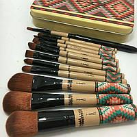 Профессиональный набор кистей для макияжа MAC 12 шт.