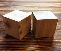Деревянный кубик, 3 см