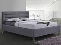 Двоспальне ліжко з мякою оббивкою Liden 160 Signal