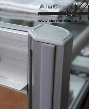Уплотнитель продольного паза для торгового профиля, фото 2