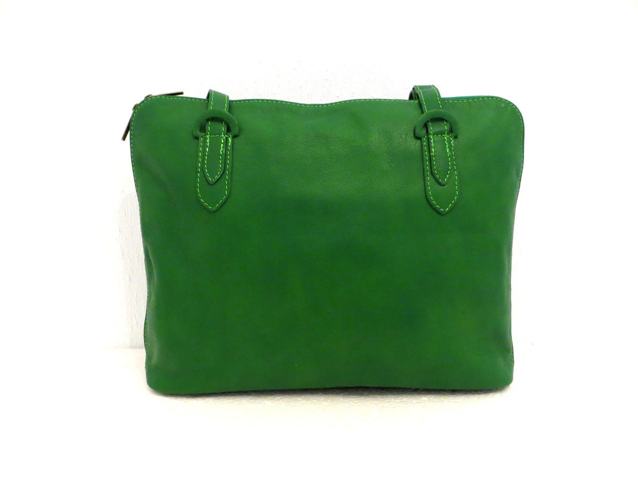 Стильная женская сумка. Натуральная кожа. Италия
