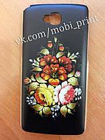 Чехол для LG G Pro Lite Dual D686 (хохлома)