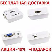 Конвертер VGA2HDMI VGA to HDMI (10/41) Originalsize аудио видео, фото 1