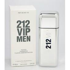 Carolina Herrera 212 VIP Men туалетная вода 100 ml. (Тестер Каролина Херера 212 Вип Мэн)