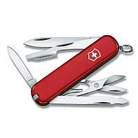 Нож Складной Мультитул Викторинокс Victorinox EXECUTIVE (74мм, 10 функций), красный 0.6603
