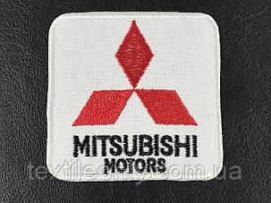 Нашивка mitsubishi ( мицубиси) 70х70 мм, фото 2