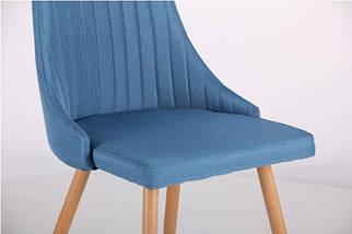 Стул Jasmine каркас бук/ткань цвет сине-серый, фото 3