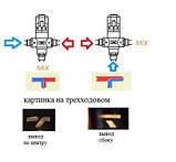 """Трехходовой термостатический смесительный клапан 3/4"""", 35-60 С (Вывод по центру), фото 9"""