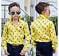 """Детская стильная рубашка для мальчика 614 """"POLO"""" в расцветках, фото 3"""