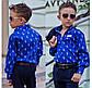 """Детская стильная рубашка для мальчика 614 """"POLO"""" в расцветках, фото 4"""