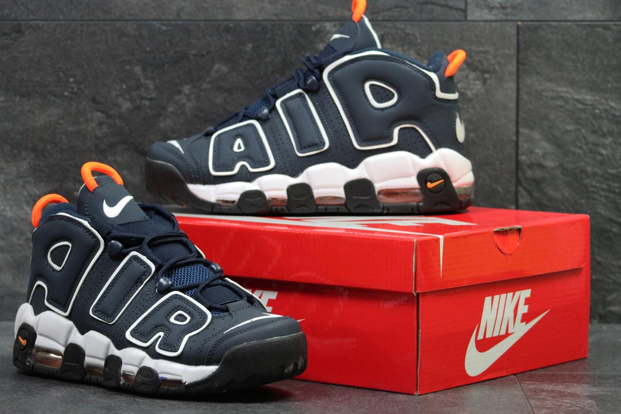 1a7a965a Мужские кроссовки Nike Air More Uptempo 96 Прессованная кожа, Нубук Пена -  M A Y K A S H O P . com