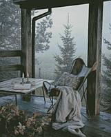 """Схема для вышивания """"Туманный вечер на веранде"""""""
