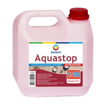 Грунтовка ESKARO Aquastop Professional, 1л, концентрат (1:10)