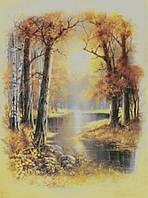"""Схема для вышивания """"Осень в лесу"""""""